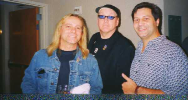 Colonel Robin Zander, Colonel Rick Nielsen, and Colonel Anthony Harper